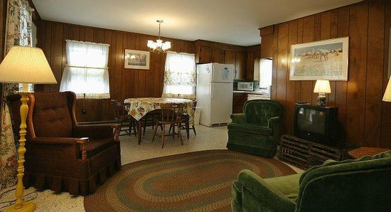 Moody's Motel & Cottages: Cottage Living Area