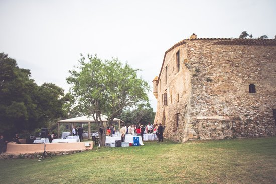 Ses Garites: coctail in front of Sesgarites