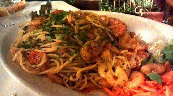 Mignon : Spaghetti ai gamberi
