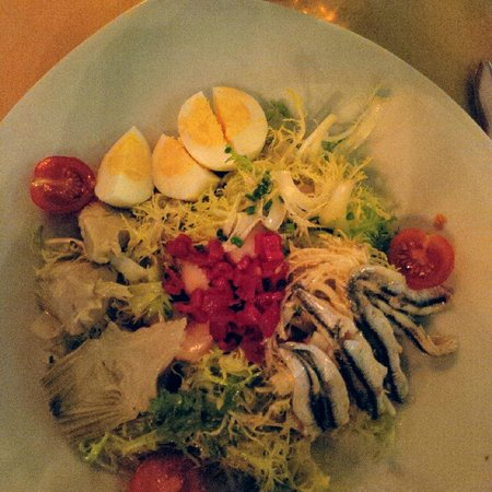 Anchovy salad picture of malbec argentinean cuisine for Argentinean cuisine