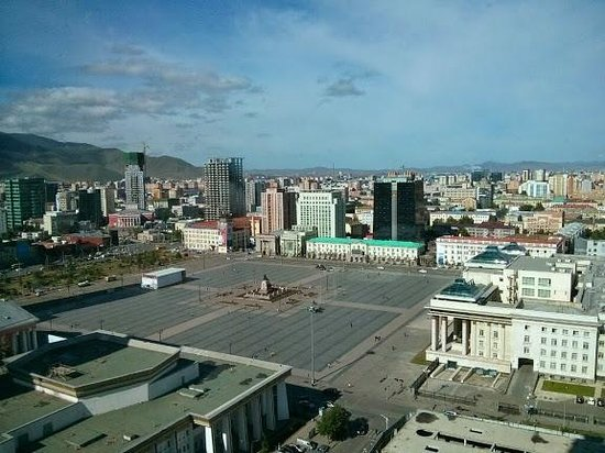 Best Western Premier Tuushin Hotel: Nice view from the room (18th floor)
