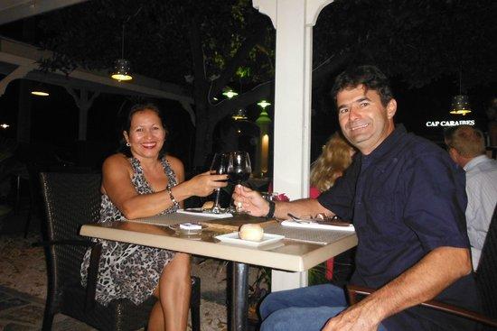 La Table d'Antoine: brindis aniversario