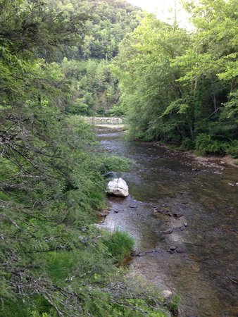 Blue Bend Recreation Area: View from bridge