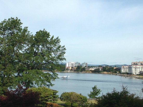 Inn at Laurel Point: View from Erickson suite