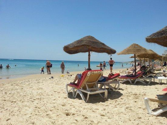 Palm Beach Club Hammamet: beach