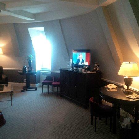Fairmont Le Chateau Frontenac: Living area