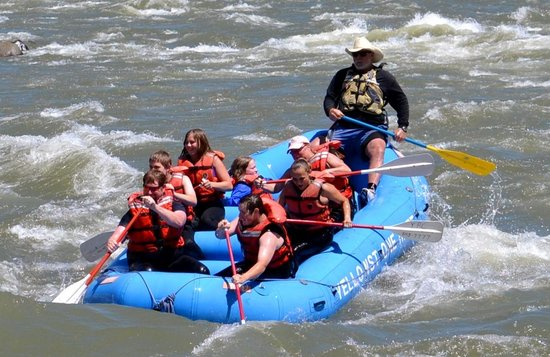 Yellowstone Raft Company: Family Fun!