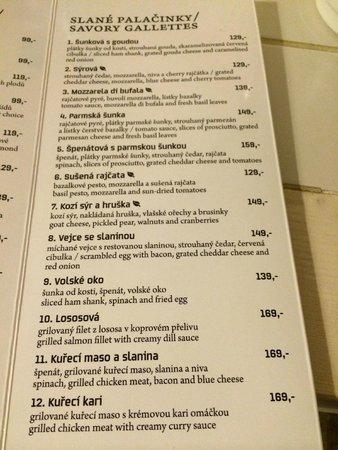 Creperie U Kajetana: Os crepes...