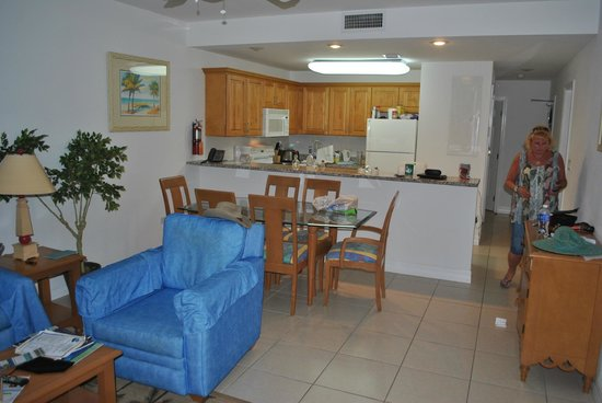 Wyndham Reef Resort: Our room. One bedroom suite
