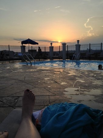 Holiday Inn Washington DC-Central/White House: Roof pool