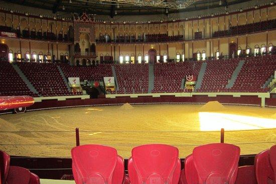 Campo Pequeno: Small, indoor arena
