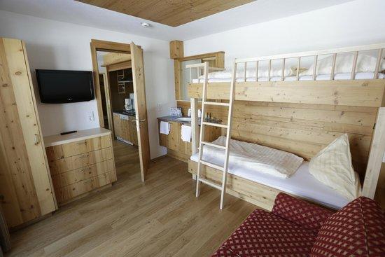 Hotel Austria: Kinderzimmer Appartement