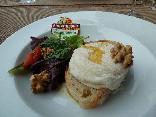 Le Troubadour: Cheese starter