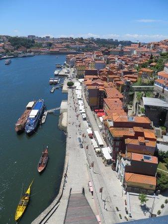 Pestana Palácio do Freixo : The Ribeira, where all the cool riverside restaurants are.