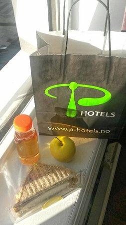 P-Hotels Bergen: Breakfast on your door in the morning