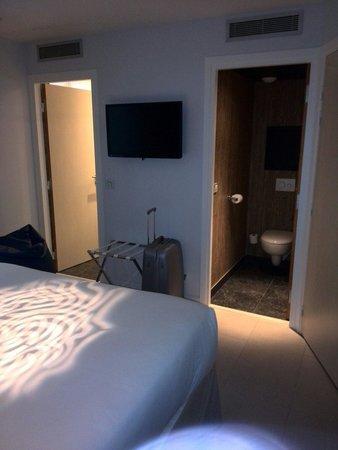 Hotel Eden: Bagno separato da doccia