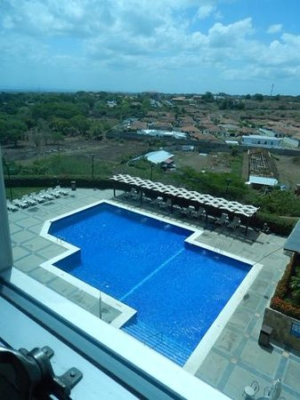 Barcelo Managua: View of the pool from our room