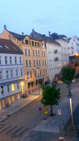 P-Hotels Bergen: 330 AM  June 17 -  Daylight already!  :)
