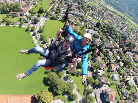AlpinAir Paragliding: This guy took ya on one gnarly adventure!