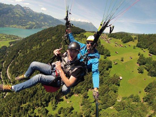 AlpinAir Paragliding: Pascal was the man!!