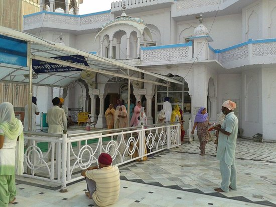 Bathinda, India: Inside of gurudwara