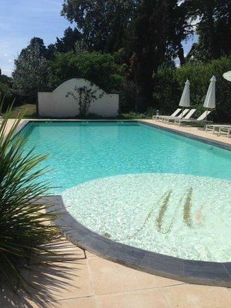 Mas de Capelou: la piscine 28°