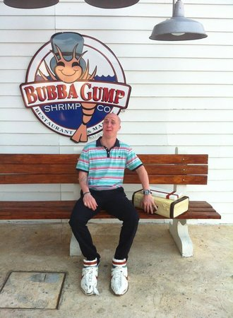 Bubba Gump Shrimp Co.: The hubby