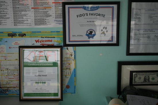 Rus Mar Motel: Our Awards !!!