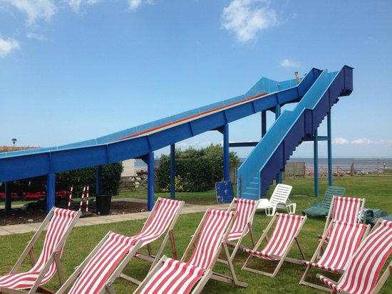 Doniford Bay Holiday Park - Haven: Water slide