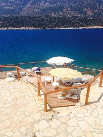 Korsan Ada Hotel : Plaj