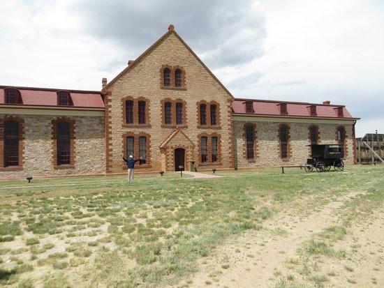 Wyoming Territorial Prison State Historic Site : Gefängnis