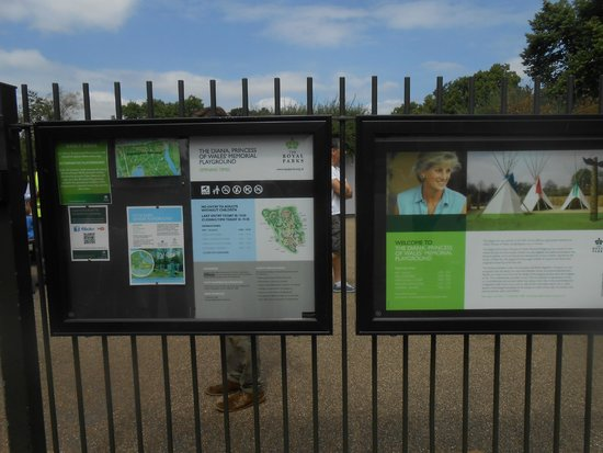 Diana Princess of Wales Memorial Playground: Ingresso