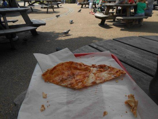 Diana Princess of Wales Memorial Playground: Pizza