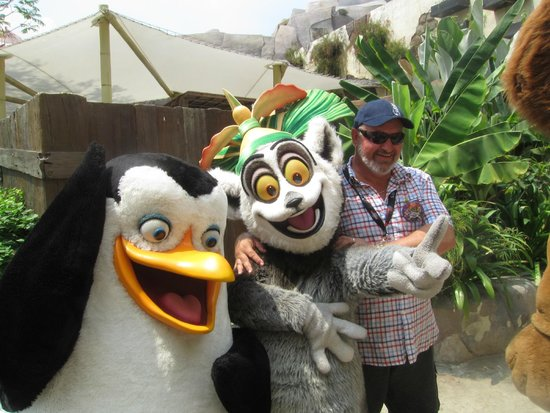 Meet & Greet with Madagascar characters - Picture of ...