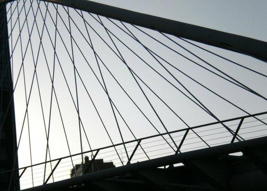 White Bridge (Zubi Zuri): ungewöhnliche Sicht