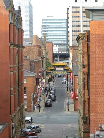Novotel Manchester Centre: Chinatown from room 439
