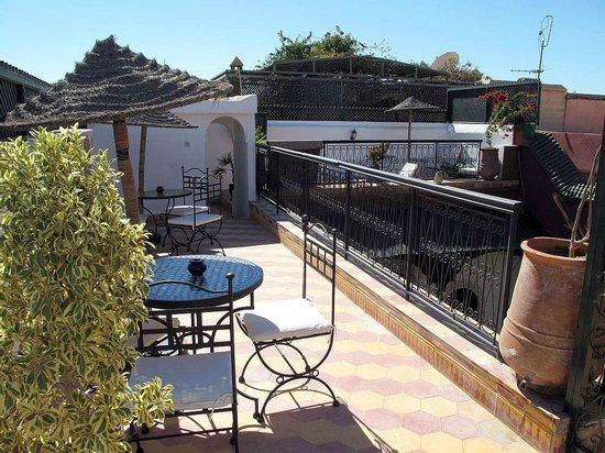 Terrasse Riad Dar Tamlil.