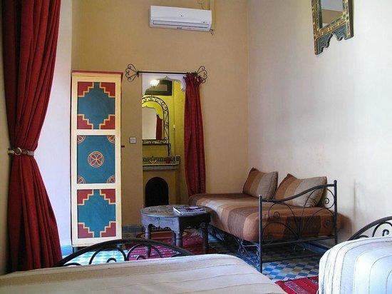Chambre Twin No4 Riad Dar Tamlil.