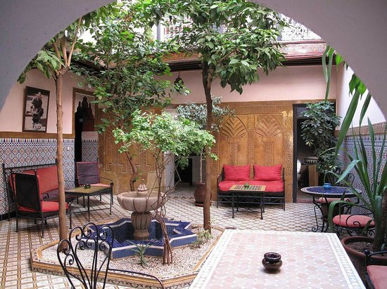 Patio Riad Dar Tamlil.