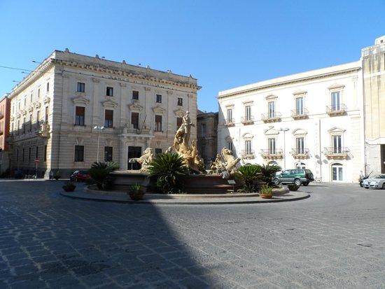 Ortigia: Piazza archimede