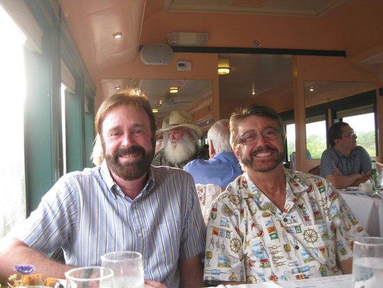 Seminole Gulf Railway Murder Mystery Dinner Train: Jack and John