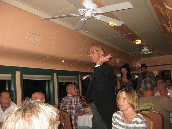 Seminole Gulf Railway Murder Mystery Dinner Train: Actor - the nephew