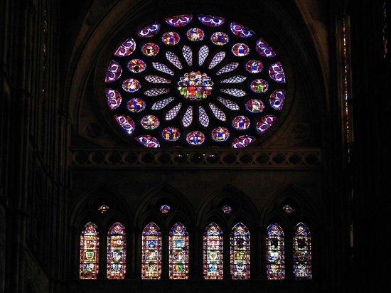 Santa Maria de Leon Cathedral: Detalle de Vidrieras en la Catedral de León