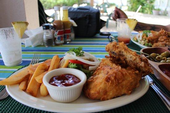Sugar Mill Hotel: Lunch