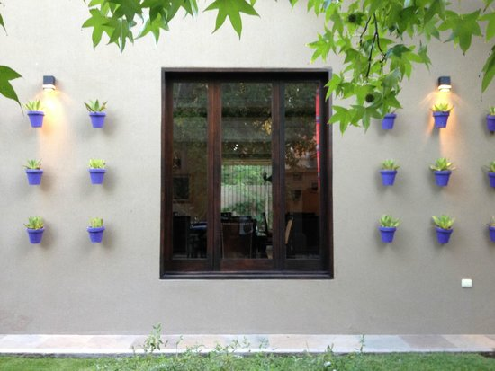 Casa La Galeana Hotel & Cavas: jardin