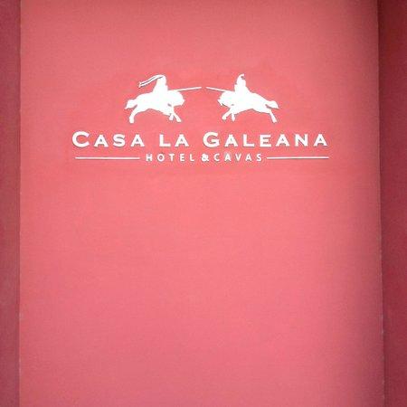 Casa La Galeana Hotel & Cavas: entrada