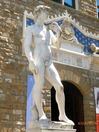 Accademia di Belle Arti (Galleria dell'Accademia): Il David (copia)