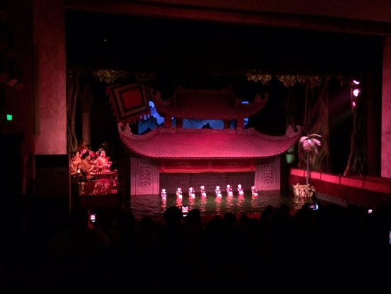 Thang Long Water Puppet Theater: 4/7/2014