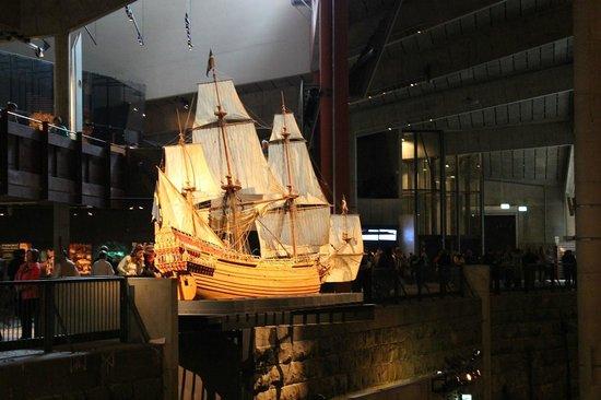 Vasa-Museum: Modell av Regalskeppet Vasa