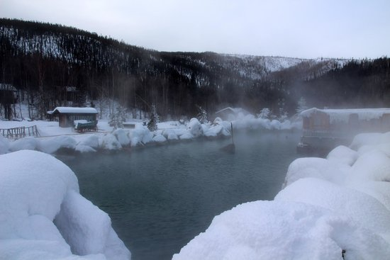 Chena River State Recreation Area: Hot Springs in March